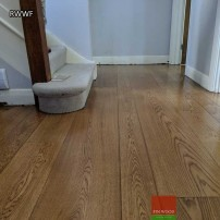 Random width wood flooring by Fin Wood #CraftedForLife