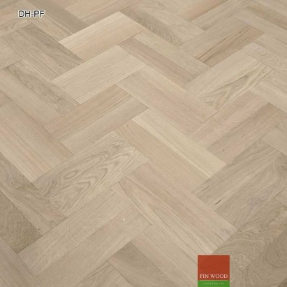 Double herringbone parquet fitting