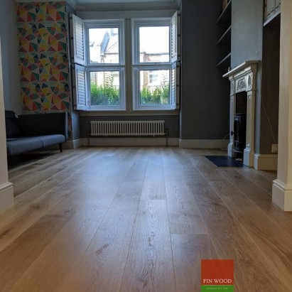 Distressed oak flooring - rustic oak flooring - London #CraftedForLife
