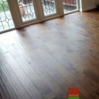 Fitting Smoked Oak Wood Floors #CraftedForLife