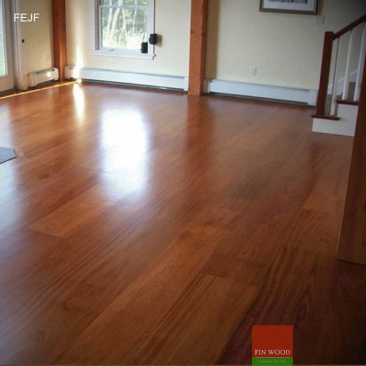 Jatoba wood flooring - Engineered Jatoba Fitting
