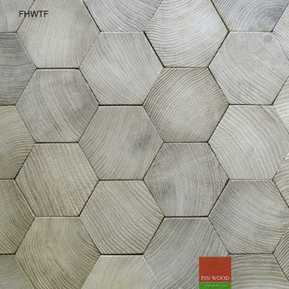 Fitting Hexagon Wood Tiles floors - hexagon parquet floor