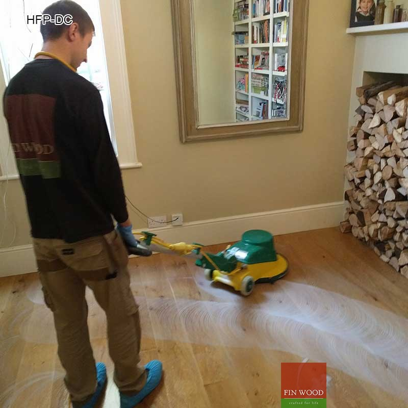 Hardwood Floor Professional Deep Cleaning