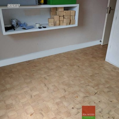 End grain Flooring #CraftedForLife