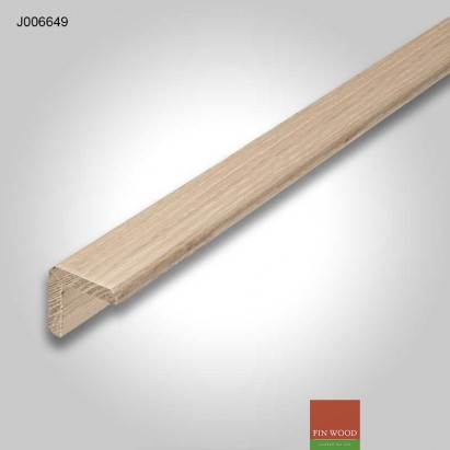 Stair Lipping - solid natural Oak 40x40mm #CraftedForLife
