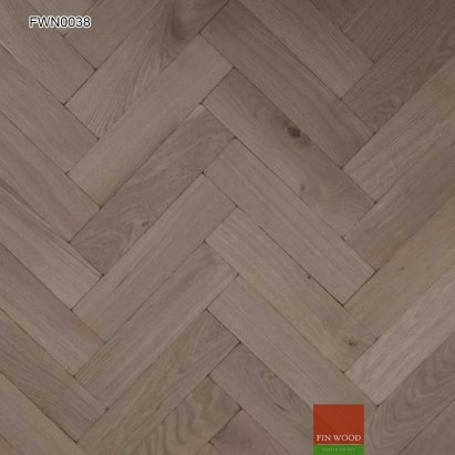Oak Aged Parquet Unsealed 400 x 100 x 19 mm #CraftedForLife