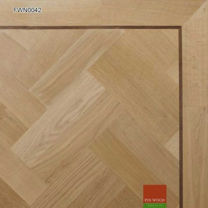 Oak Parquet Premier Unsealed 280 x 70 x 19mm #CraftedForLife