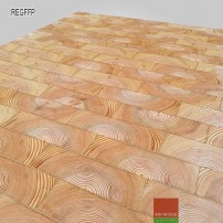 End grain - Rectangular end grain flooring fitting premier