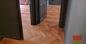 Parquet flooring transforms Highgate home