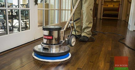 Time to maintain your oil finished floor?