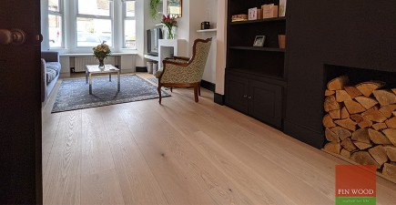 Expertly fitted engineered oak boards in stunning whole house project in Beckenham, BR3