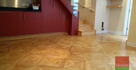 Versailles Panel Flooring Introduces Pattern to South London home #CraftedForLife