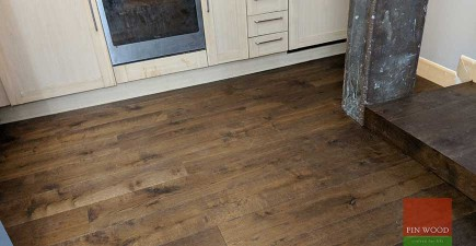 Warehouse Conversion is Given an Update With a New Modern Wooden Floor #CraftedForLife