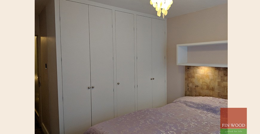 Bespoke Wood Floor & Headboard Create Stunning A Home
