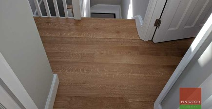 Oak Floor Replaces New Carpet After House Refurbishment #CraftedForLife