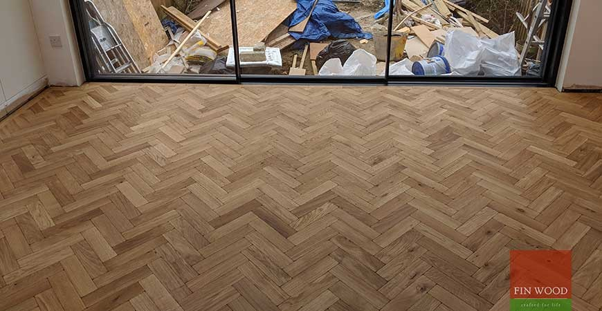 Curved Parquet Gives Kitchen Floor The Edge #CraftedForLife