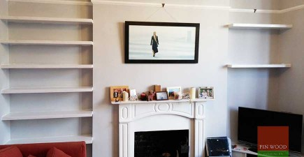 Bespoke Floating Shelves Made to Measure