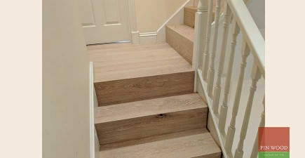 Stair cladding & Wood flooring makes a lasting impression in Wimbledon #CraftedForLife