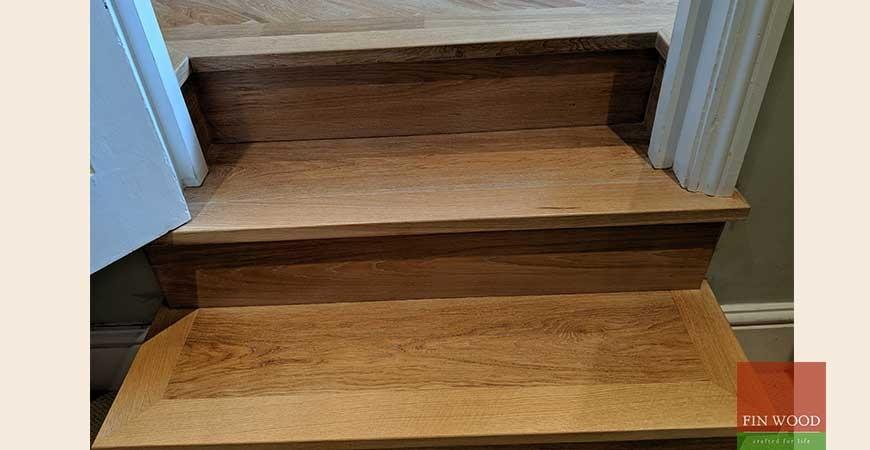 Bespoke Brushed Effect Parquet Wood Flooring Fitted in Shepherd's Bush, W14 #CraftedForLife