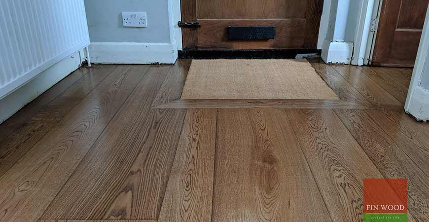 Random Width Engineered Oak Makes A Statement In Beckenham, BR3 #CraftedForLife