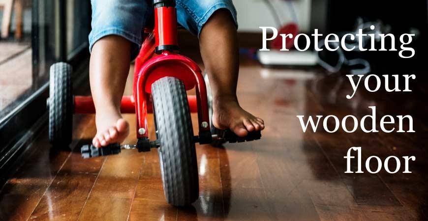 Protecting Your Wooden Floor #CraftedForLife