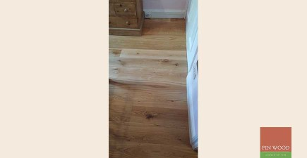 Fitting Engineered Oak Natural