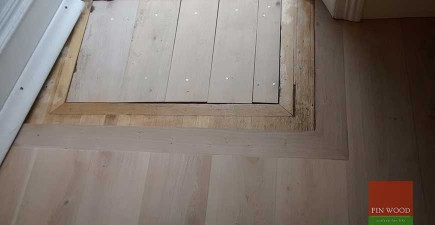 Fitting Wide Oak Boards Engineered in Chiswick