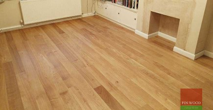 Beautiful Engineered Oak Floor installed in Dulwich #CraftedForLife