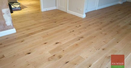 Oak Engineered Boards in Wimbledon, London #CraftedForLife