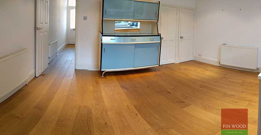 Oak Engineered Wood Flooring in Wimbledon, London #CraftedForLife