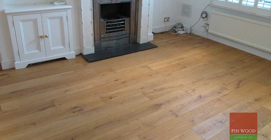 Oak Engineered Boards flooring in Battersea, London #CraftedForLife