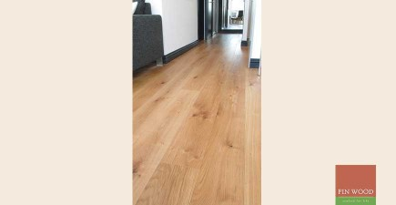 Oak Engineered Wood Flooring near Tower Bridge, London