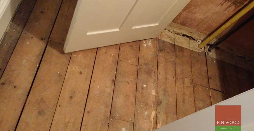 Original Pine Boards Restoration, Sanding & Painting, in Teddington, London #CraftedForLife