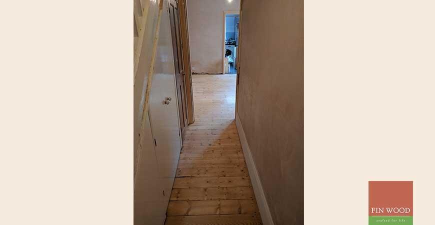 Original Pine Boards Restoration, Sanding & Oiling, in Harrow, London #CraftedForLife