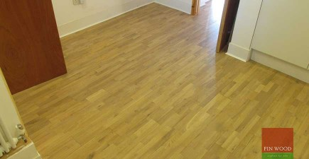 Solid 3 Strip Oak Flooring in Nunhead, London