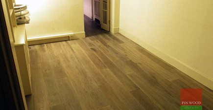 Engineered Smoked Oak Flooring in Fulham, London