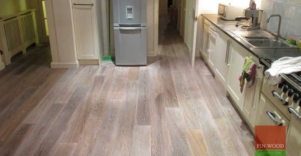 Engineered Smoked Oak Flooring in Fulham, London #CraftedForLife