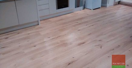 Engineered Oak Flooring in Clapham, London #CraftedForLife