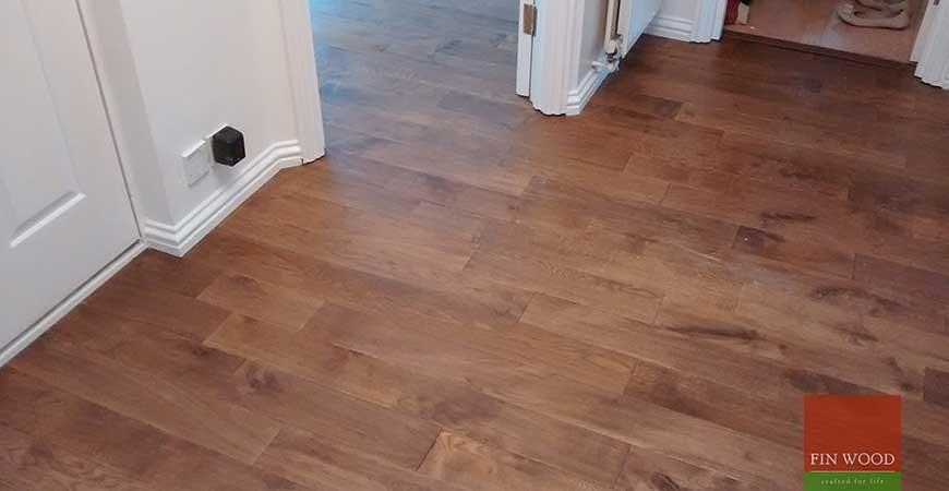 Solid Oak Flooring in Woodford Green, London #CraftedForLife