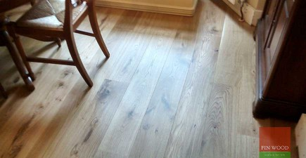 Engineered Oak Flooring in Twickenham, London #CraftedForLife