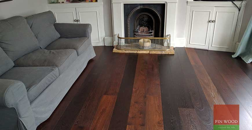 Baked Oak Engineered Boards Installation in SW18 Wandsworth, London #CraftedForLife