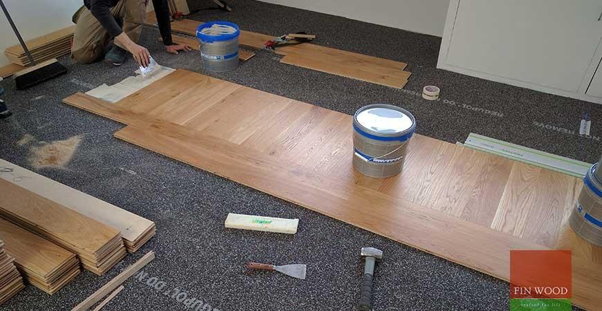 Bespoke Oak Engineered Boards Installation in NW1 Holloway, London  #CraftedForLife