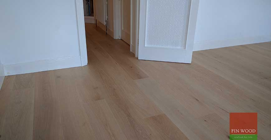 Wide Oak Engineered Boards Installation in E17 Walthamstow, London