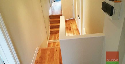 Brushed Engineered Oak Boards fitting #CraftedForLife