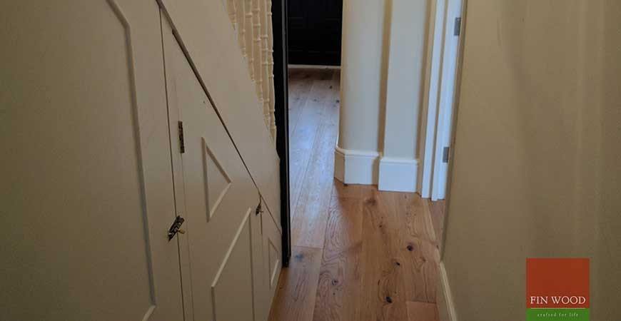 Rustic Oak Engineered Boards flooring in SE25 Croydon #CraftedForLife
