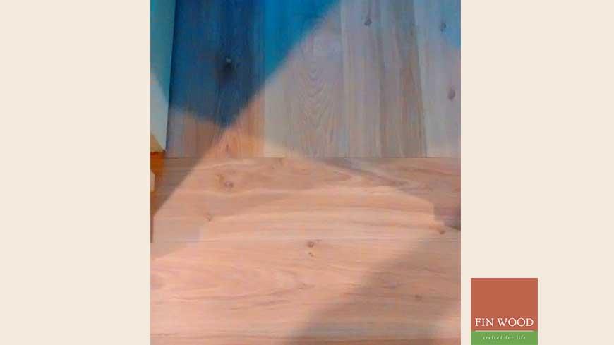 Direction change in wood flooring craftmanship 4