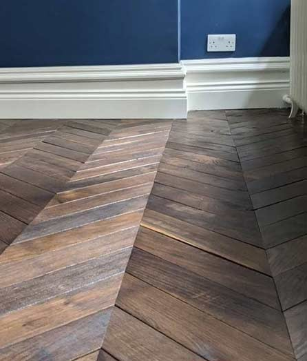 Chevron Flooring London #CraftedForLife